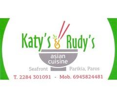 Katy's & Rudy's asian cuisine